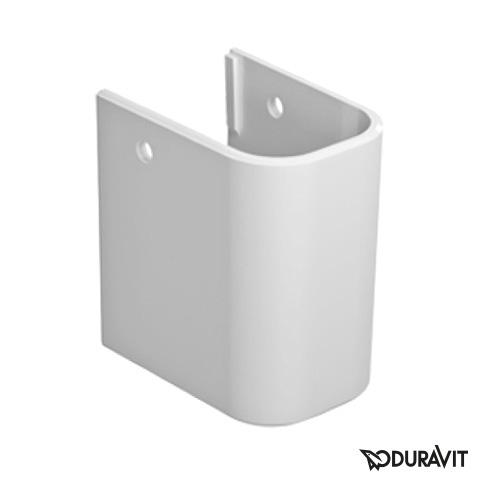 Duravit Happy D.2 Halbsäule für Handwaschbecken weiß