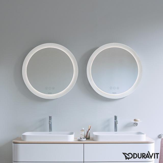 Duravit Happy D.2 Plus Spiegelset mit LED-Beleuchtung, Icon Version