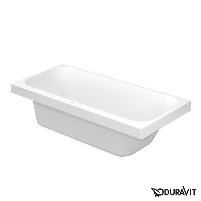 Duravit Happy D.2 Rechteck-Badewanne mit Rückenschräge rechts