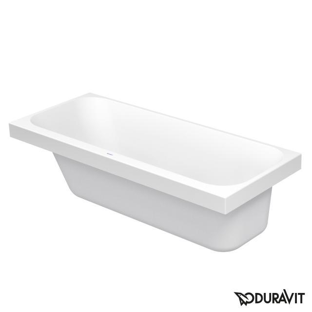 Duravit Happy D.2 Rechteck-Badewanne mit Rückenschräge links