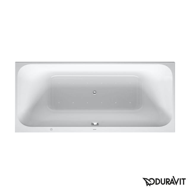 Duravit Happy D.2 Rechteck-Whirlwanne, Einbau mit Air-System