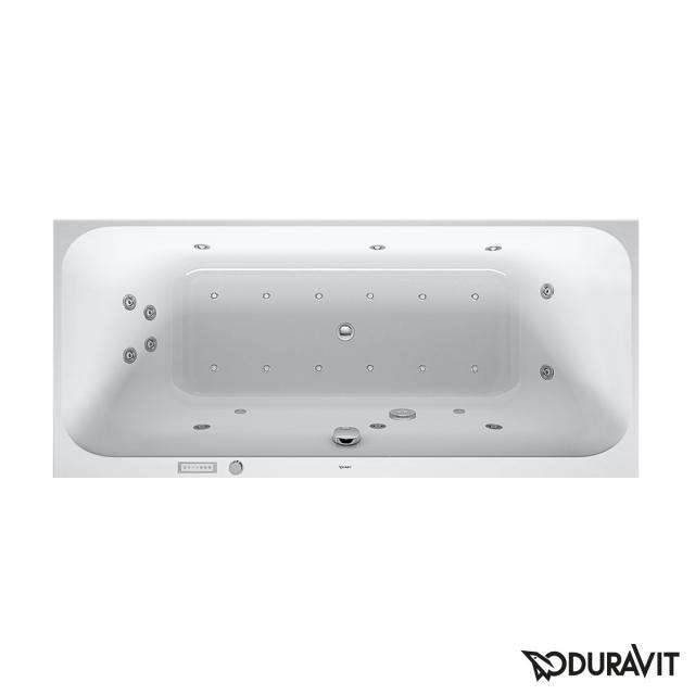 Duravit Happy D.2 Rechteck-Whirlwanne, Einbau mit Combi-System E