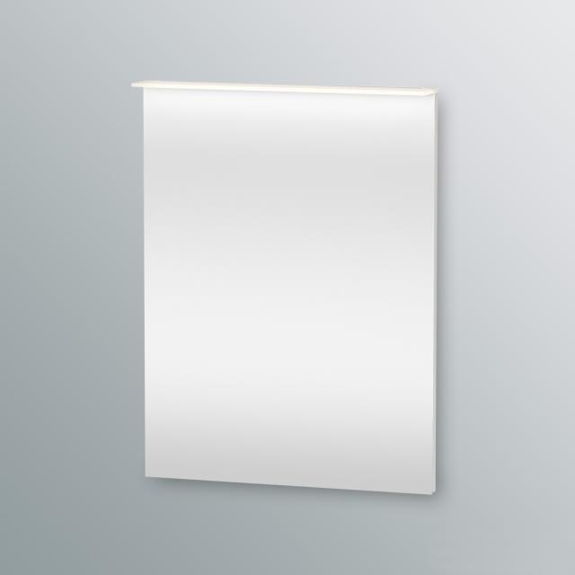 Duravit Happy D.2 Spiegel mit LED-Beleuchtung weiß hochglanz