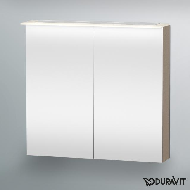 Duravit Happy D.2 LED-Spiegelschrank leinen