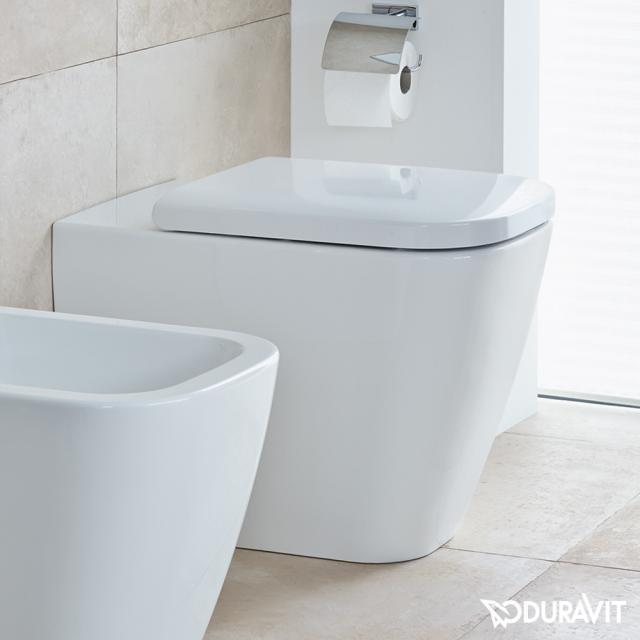 Duravit Happy D.2 Stand-Tiefspül-WC weiß