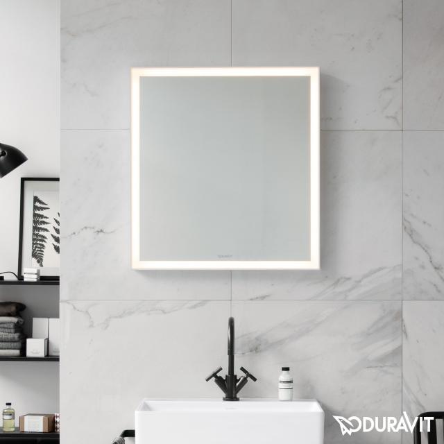 Duravit L-Cube Spiegel mit LED-Beleuchtung ohne Spiegelheizung