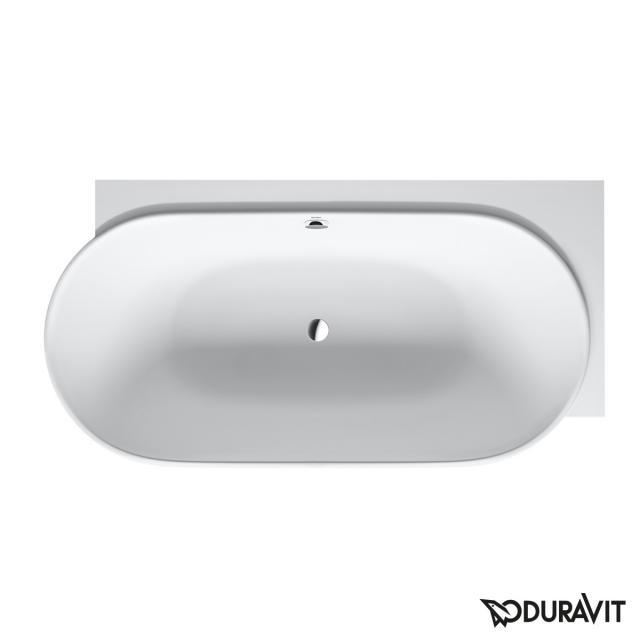 Duravit Luv Eck-Badewanne mit Verkleidung mit Wannenrandbohrung für Armatur