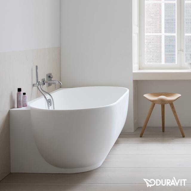 Duravit Luv Eck-Badewanne mit Verkleidung ohne Wannenrandbohrung