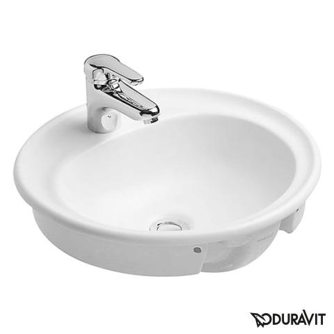 Duravit Manua Einbauwaschtisch weiß
