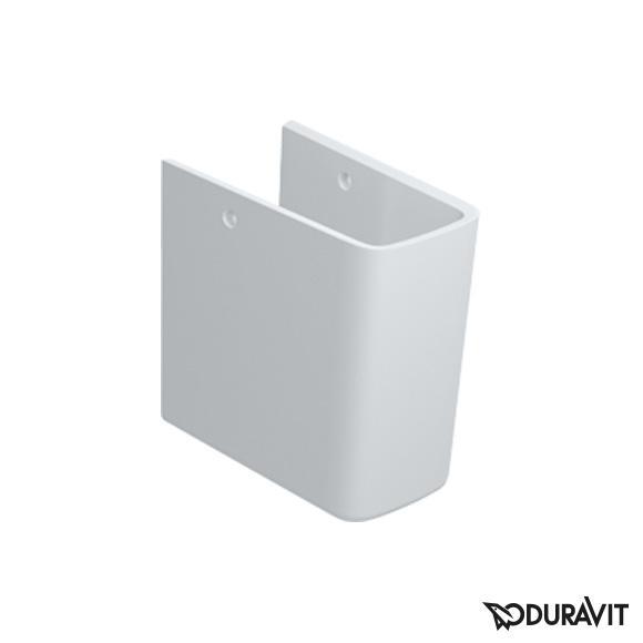 Duravit ME by Starck Halbsäule für Handwaschbecken weiß