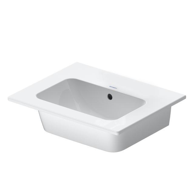 Duravit ME by Starck Handwaschbecken weiß, ohne Hahnloch