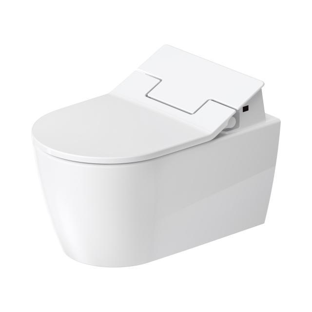 Duravit ME by Starck Wand-Tiefspül-WC HygieneFlush mit NEUEM SensoWash® Slim WC-Sitz, Set