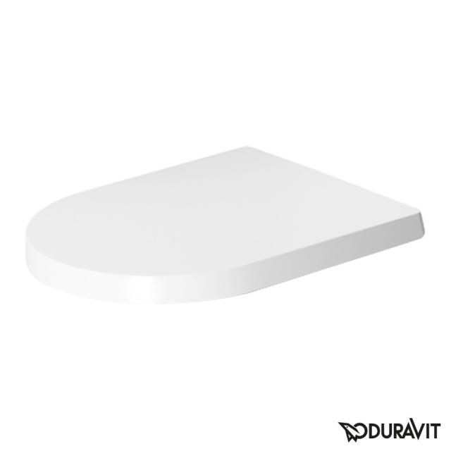 Duravit ME by Starck WC-Sitz weiß matt, mit Absenkautomatik