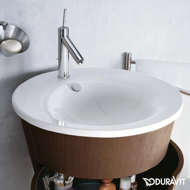 Duravit Starck 1 Möbel-Waschtisch weiß, mit WonderGliss