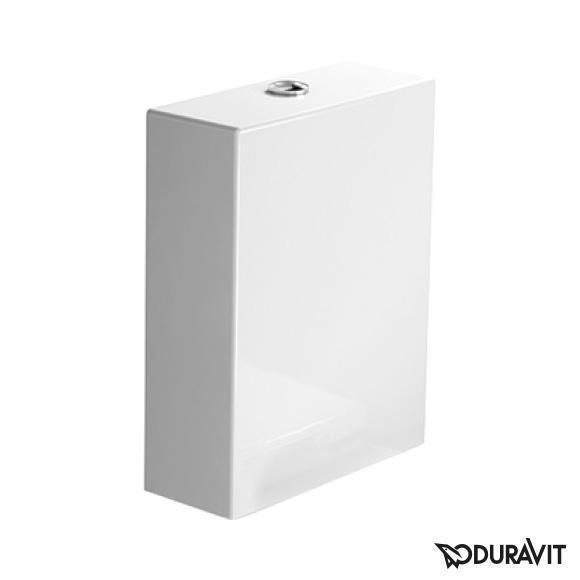 Duravit Starck 2 Spülkasten für Aufsatzmontage, Anschluss links weiß