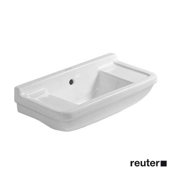 Duravit Starck 3 Handwaschbecken weiß, mit WonderGliss