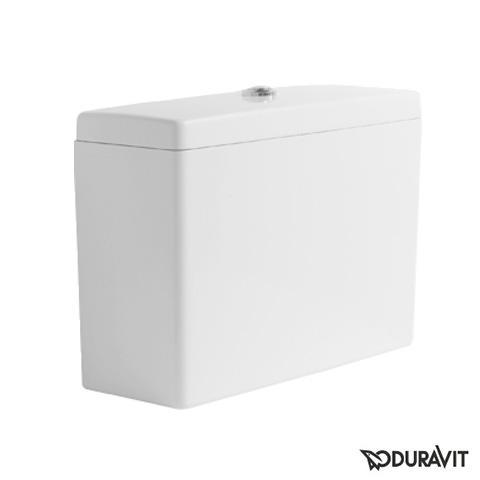 Duravit Starck 3 Spülkasten Big Toilet für Aufsatzmontage weiß mit WonderGliss, für Anschluss links, rechts und Mitte