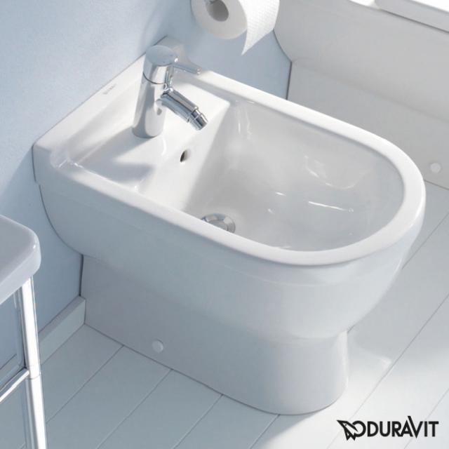 Duravit Starck 3 Stand-Bidet L weiß