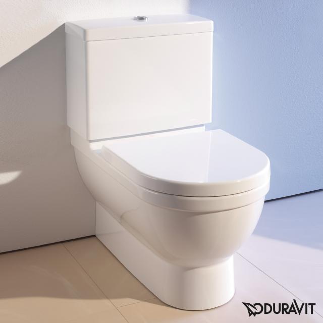 Duravit Starck 3 Stand-Tiefspül-WC für Kombination Big Toilet weiß, mit WonderGliss