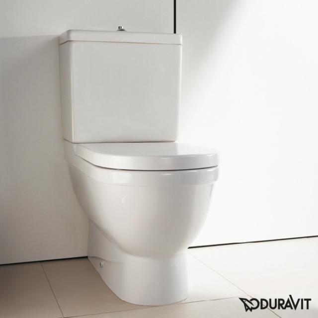 Duravit Starck 3 Stand-Tiefspül-WC für Kombination weiß, mit WonderGliss