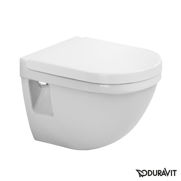 Duravit Starck 3 Wand-Tiefspül-WC Compact weiß