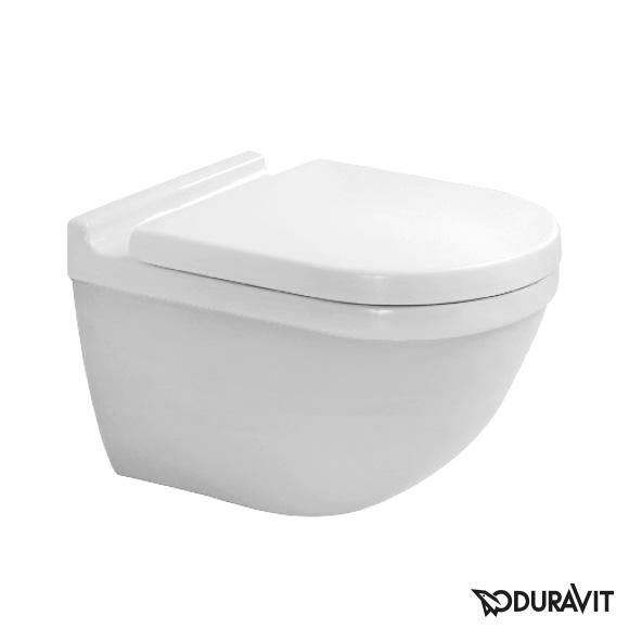 Duravit Starck 3 Wand-Tiefspül-WC mit Spülrand, weiß