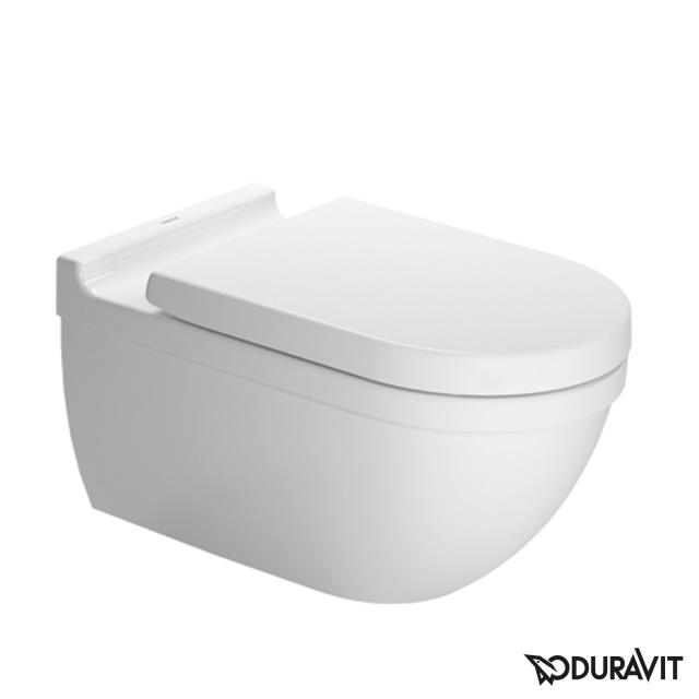 Duravit Starck 3 Wand-Tiefspül-WC, verlängerte Ausführung weiß, mit WonderGliss