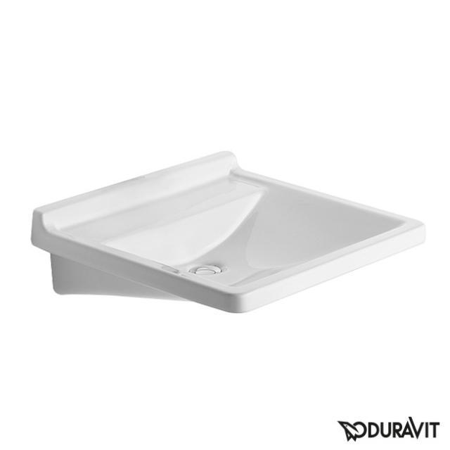 Duravit Starck 3 Waschtisch Vital med, barrierefrei weiß, ohne Hahnloch, ohne Überlauf