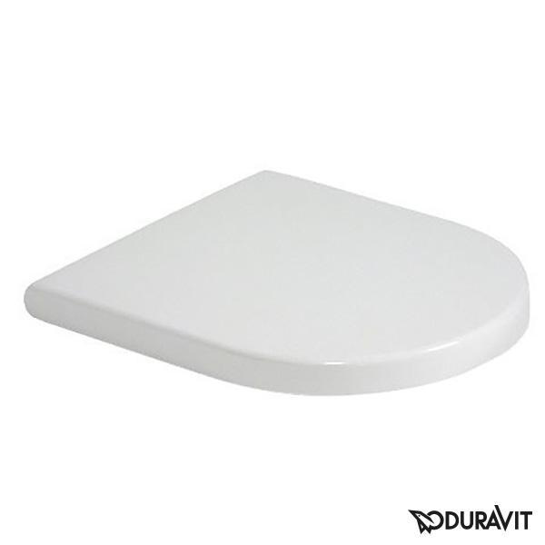 Duravit Starck 3 WC-Sitz mit Absenkautomatik soft-close