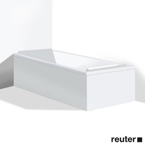 Duravit Starck Möbelverkleidung für Bade-/Whirlwanne, Eckeinbau weiß