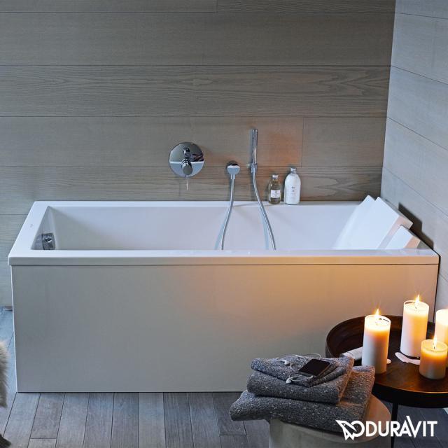 Duravit Starck Rechteck-Badewanne, Einbau