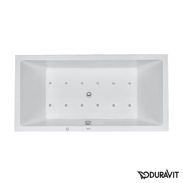 Duravit Starck Rechteck-Whirlwanne, Einbau mit Air-System