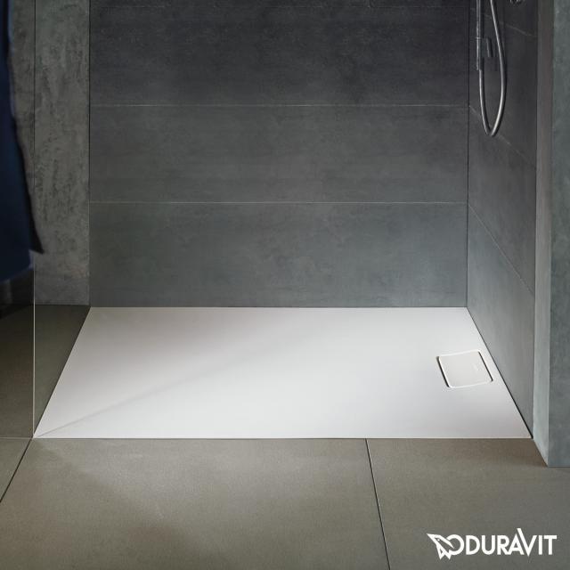 Duravit Stonetto Rechteck-Duschwanne weiß matt