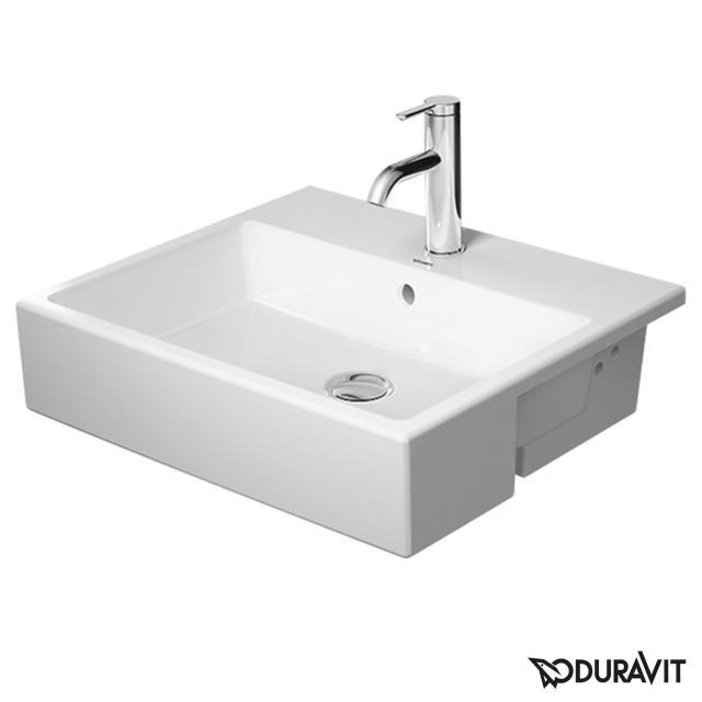 Duravit Vero Air Halbeinbauwaschtisch weiß, mit 1 Hahnloch