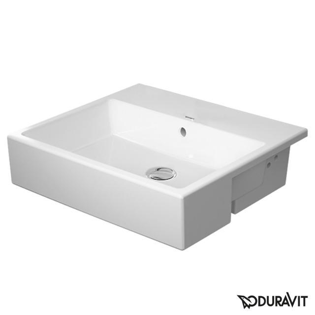 Duravit Vero Air Halbeinbauwaschtisch weiß, ohne Hahnloch