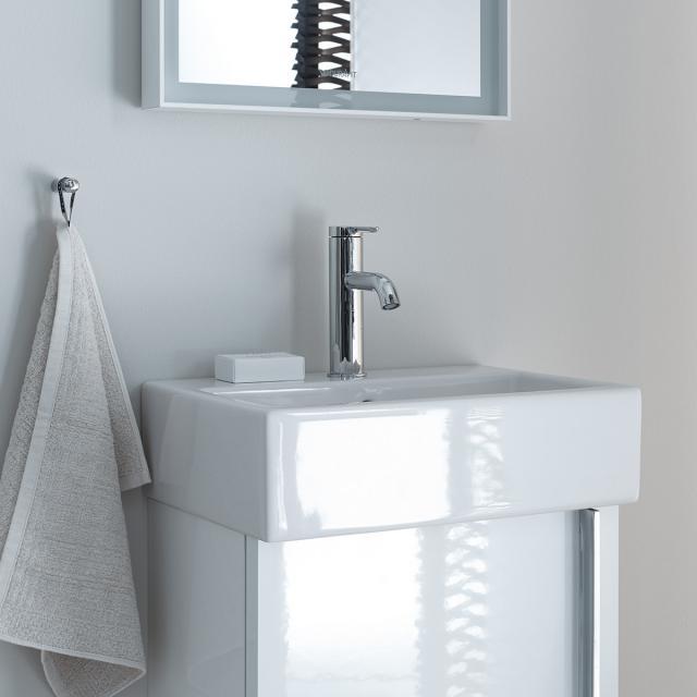 Duravit Vero Air Handwaschbecken weiß, mit WonderGliss, mit 1 Hahnloch, ungeschliffen, mit Überlauf