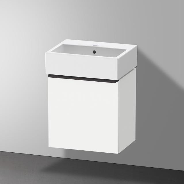 Duravit Vero Air Handwaschbecken mit D-Neo Waschtischunterschrank mit 1 Tür Front weiß matt / Korpus weiß matt, WT weiß, ohne Hahnloch