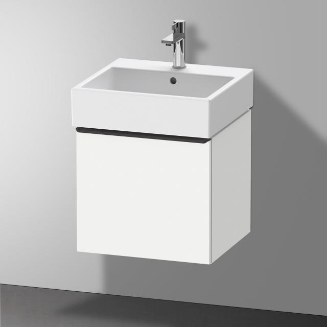 Duravit Vero Air Waschtisch mit D-Neo Waschtischunterschrank mit 1 Auszug Front weiß matt / Korpus weiß matt, WT weiß, mit 1 Hahnloch, mit Überlauf