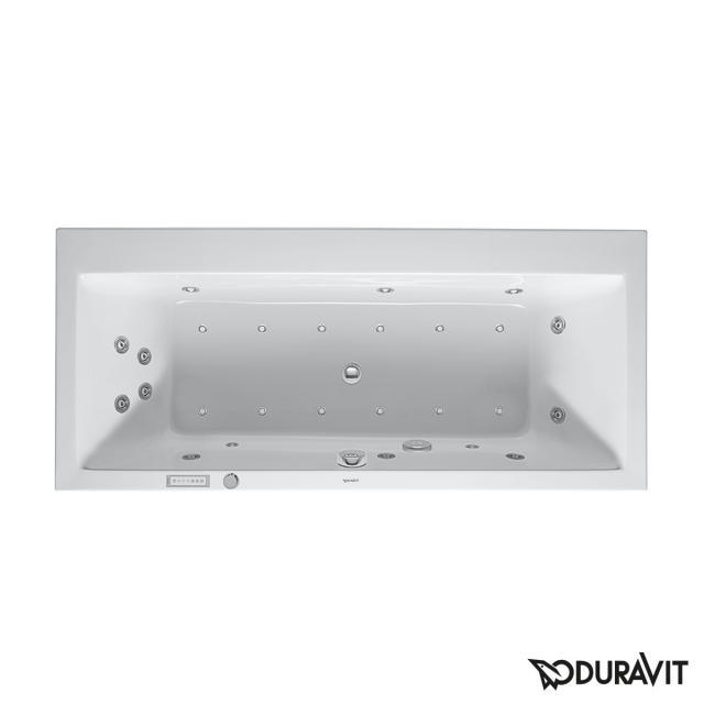 Duravit Vero Rechteck-Whirlwanne, Einbau mit Combi-System E