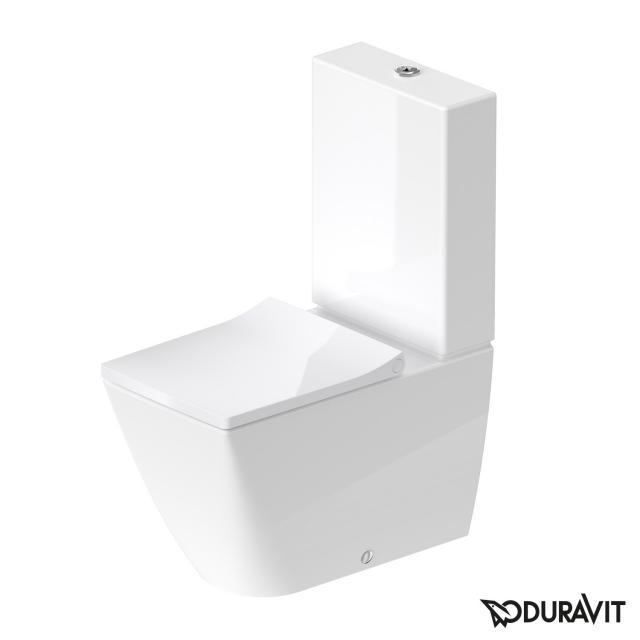 Duravit Viu Stand-Tiefspül-WC für Kombination weiß, mit HygieneGlaze
