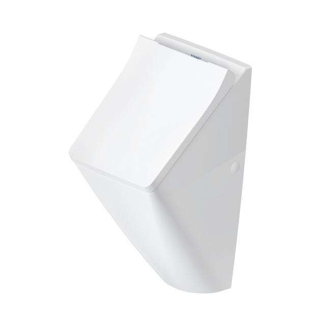 Duravit Viu Urinal, rimless, Zulauf hinten für Deckel, weiß, mit HygieneGlaze