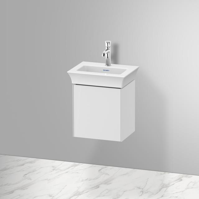 Duravit White Tulip Handwaschbeckenunterschrank mit Tür Front weiß hochglanz / Korpus weiß hochglanz, mit Tip-on-Technik