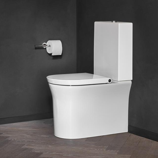 Duravit White Tulip Stand-Tiefspül-WC für Kombination, rimless weiß, mit WonderGliss