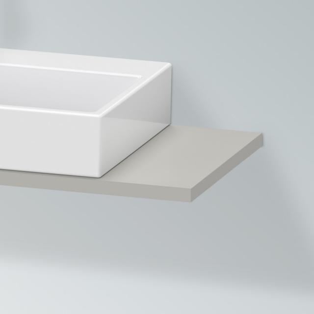 Duravit X-Large Konsole für 1 Aufsatz-/Einbauwaschtisch betongrau matt