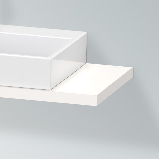 Duravit X-Large Konsole für 1 Aufsatz-/Einbauwaschtisch weiß hochglanz