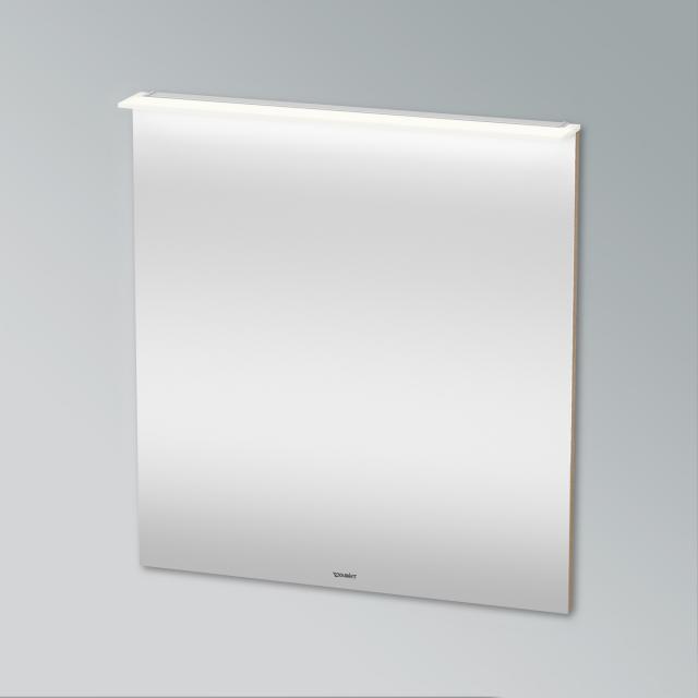 Duravit X-Large Spiegel mit LED-Beleuchtung europäische eiche