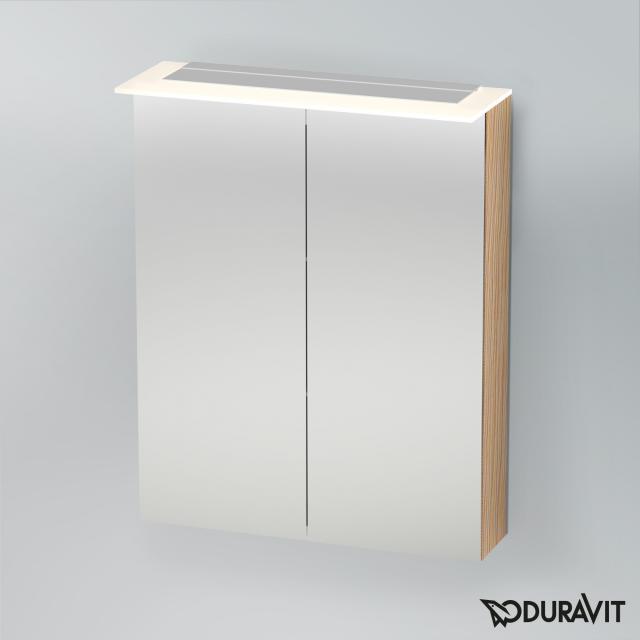 Duravit X-Large Spiegelschrank mit LED-Beleuchtung eiche gebürstet
