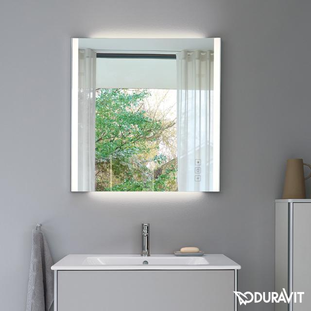 Duravit XSquare Spiegel mit LED-Beleuchtung
