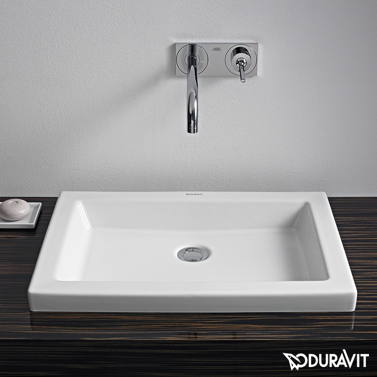 Einbauwaschtisch  Duravit 2nd floor Einbauwaschtisch weiß - 0317580029 | REUTER