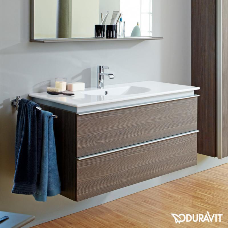 duravit darling new m belwaschtisch wei mit 1 hahnloch 0499100000 reuter. Black Bedroom Furniture Sets. Home Design Ideas
